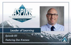 Dan Kreiness, Leader of Learning