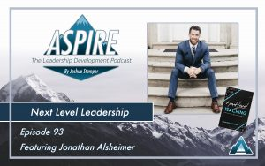 Jonathan Alsheimer, Next Level Teaching
