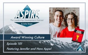 Jennifer and Hans Appel, Award Winning Culture