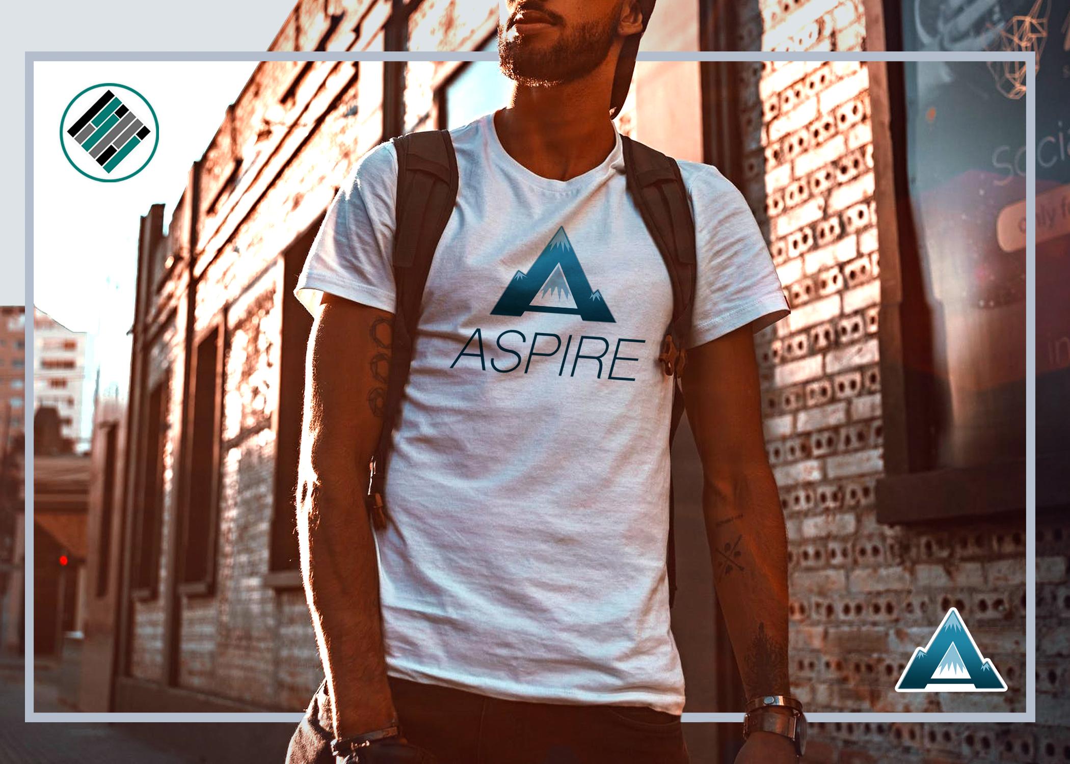 Aspire Podcast Tee Shirt, Aspire: The Leadership Development Podcast, Teach Better, Teach Better Swag