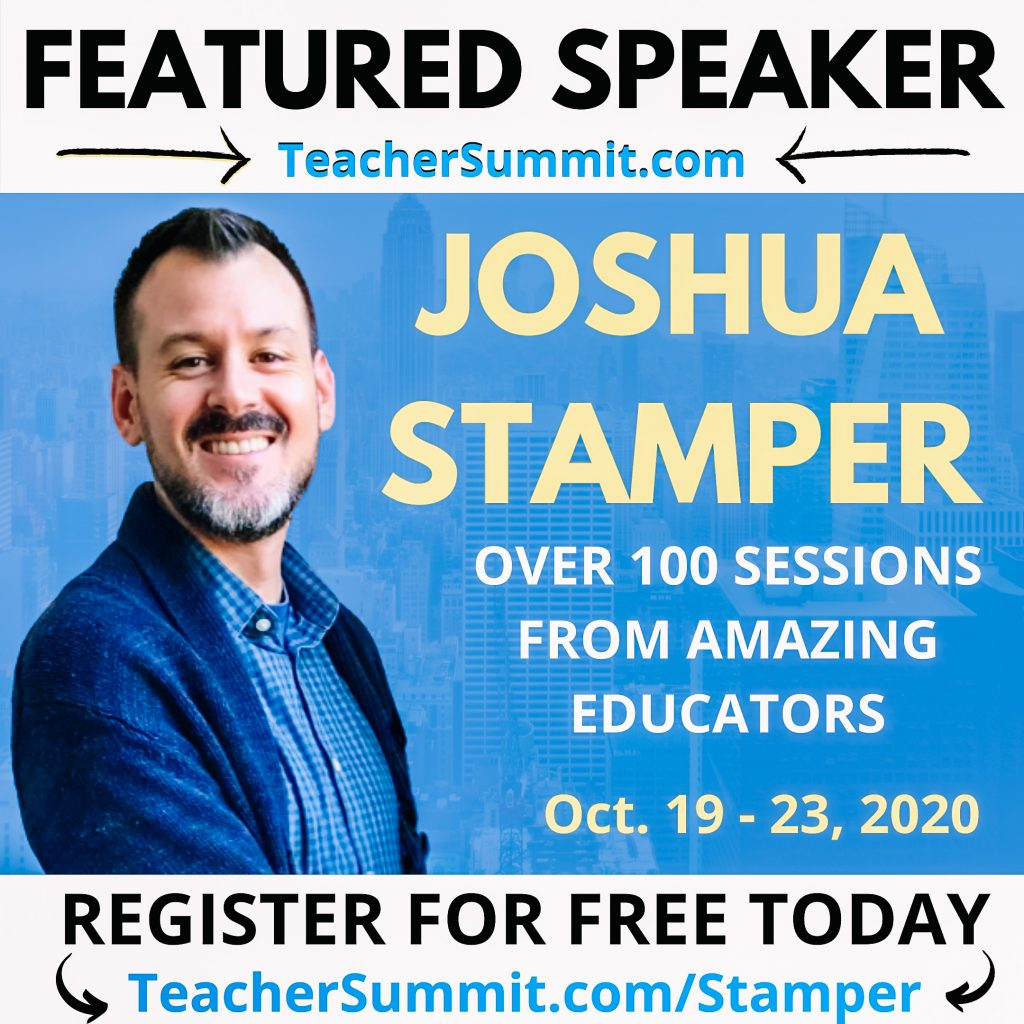 Teacher Summit, Joshua Stampe