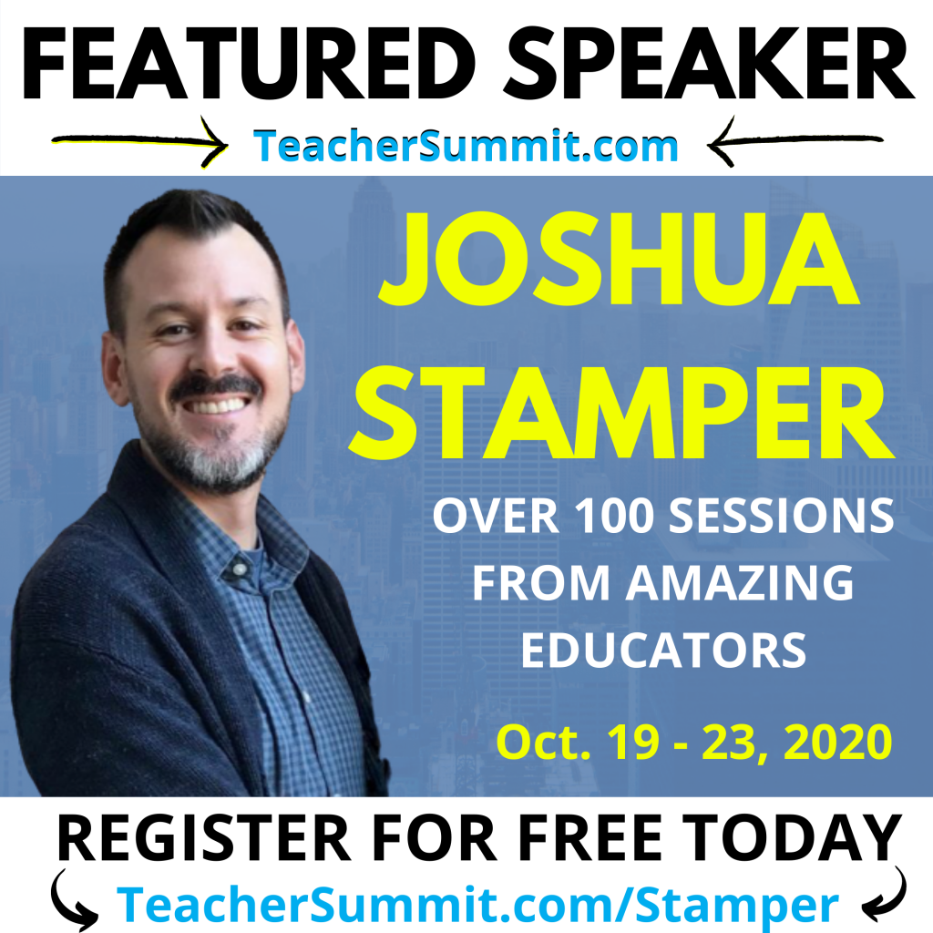 Teacher Summit, Joshua Stamper