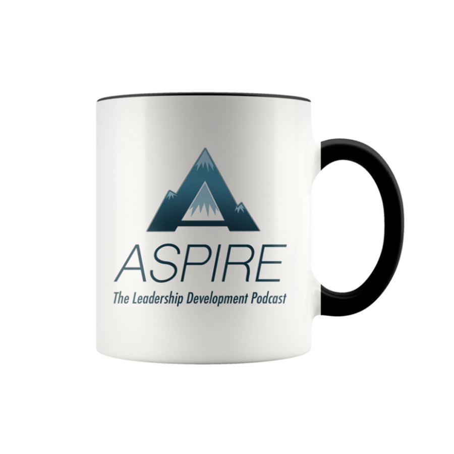 Aspire: The Leadership development Podcast Mug
