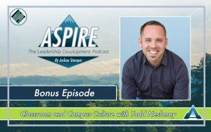 Joshua Stamper, Todd Nesloney, Aspire: The Leadership Development Podcast